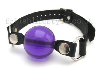 PURPLE BALL GAG